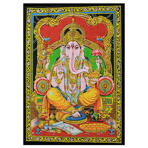 Home > Photos & Paintings > Wall Art > Indian Wall Art Print - Ganesh