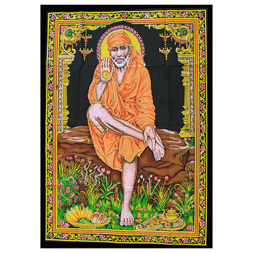 Home > Photos & Paintings > Wall Art > Indian Wall Art Print - Sai Baba