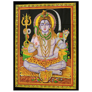 Home > Photos & Paintings > Wall Art > Indian Wall Art Print - Sitting Shiva