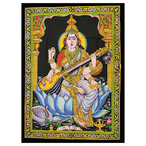 Home > Photos & Paintings > Wall Art > Indian Wall Art Print - Saraswati