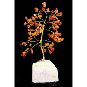 Home > Home Décor > Gems & Stones > Carnelian Gemstone Tree (80 Stone)