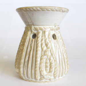 Home > Candles & Incense > Oil Burners > Venetian Round Rope Design Oil Burner