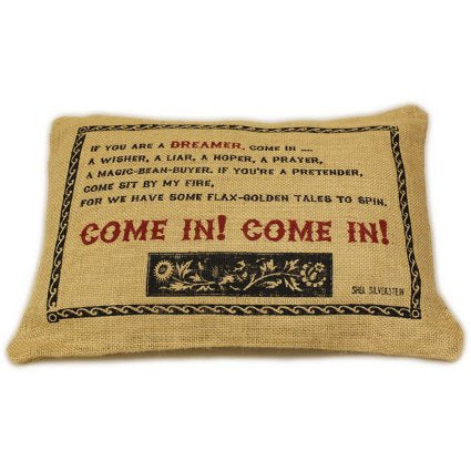 Home > Home Décor > Cushions > Jute Cushion Cover - Come In!