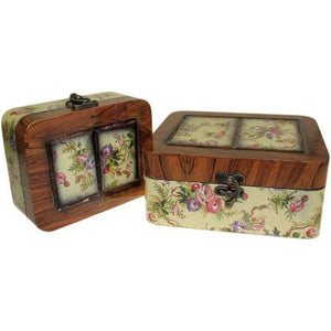 Home > Home Décor > Boxes > Set of 2 Boxes - Small Victorian