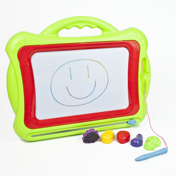 Childrens Magnetic Doodle Board - Green