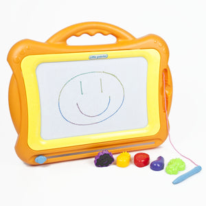 Childrens Magnetic Doodle Board - Orange