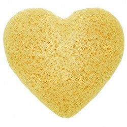 Health & Beauty > Bath > Sponges > Japanese Konjac Heart Sponge - Peach