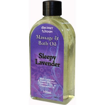Gifts > Gifts For Her > Sleepy Lavender 100ml Massage Oil