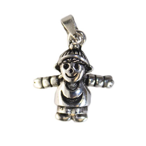 Gifts > Gifts For Babies > Silver Baby Boy Pendant
