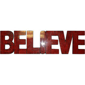 Home > Home Décor > Signs & Plaques > Mosaic Word - Believe