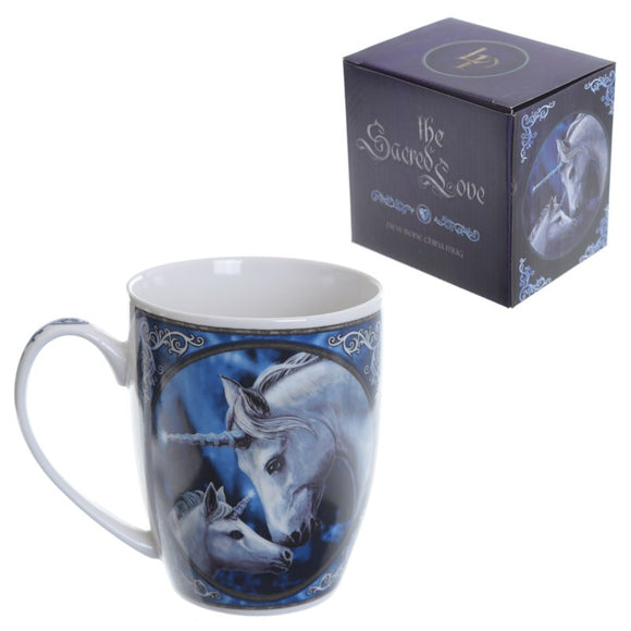 Gifts > Gifts For Her > Lisa Parker The Sacred Love Unicorn Bone China mug