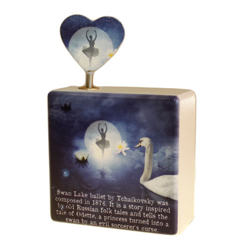 Home > Home Décor > Boxes > Music Box - Swan Lake