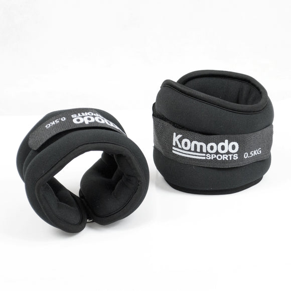 Komodo Neoprene Ankle Weights - 3kg