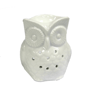 Home > Candles & Incense > Oil Burners > Classic White Oil Burner - Tall Owl