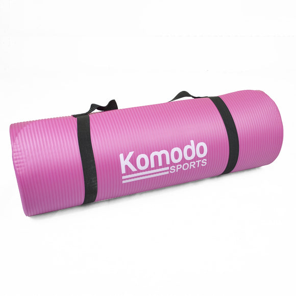 15mm Exercise Mat - Pink