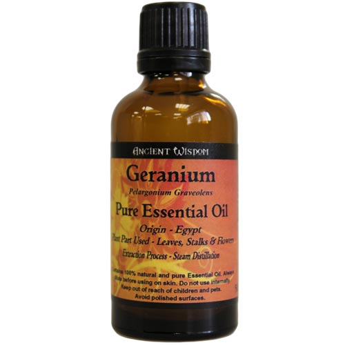 Health & Beauty > Skin Care > Lotions & Potions & Sprays > Geranium Essential Oil (50ml)
