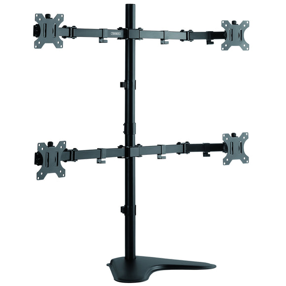 Quad Screen Monitor Mount
