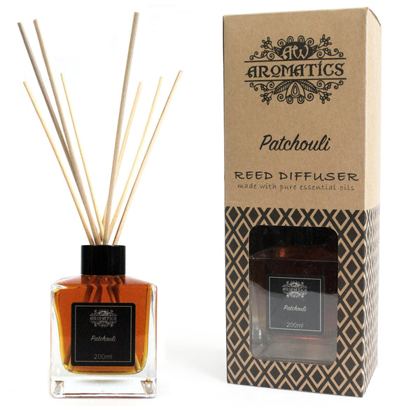 Health & Beauty > Skin Care > Lotions & Potions & Sprays > 200ml Patchouli Essential Oil Reed Diffuser