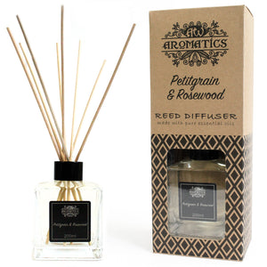 Health & Beauty > Skin Care > Lotions & Potions & Sprays > 200ml Petitgrain & Rosewood Essential Oil Reed Diffuser