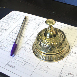Home > Home Décor > Bells & Chimes > Classic Vintage Desk Bell