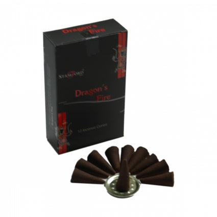 Gifts > Gifts For Her > Dragon's Fire Incense Cones