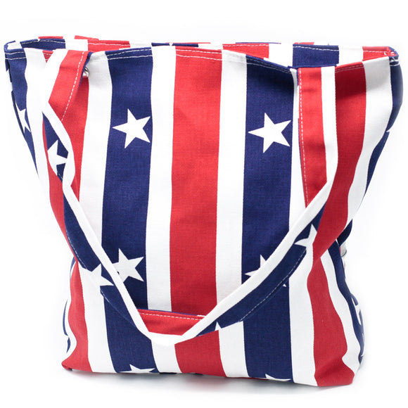 Fashion Accessories > Bags & Backpacks > Canvas Bags > Strong Canvas Bags-Red White & Blue