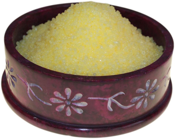 Health & Beauty > Skin Care > Lotions & Potions & Sprays > Citronella Simmering Granules 200g bag (Yellow)