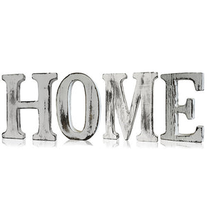 Home > Home Décor > Signs & Plaques > Shabby Chic Letters - HOME
