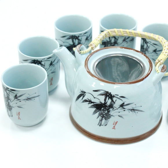 Gifts > Gifts For Her > Herbal Teapot Set - Blue Stone Oriental