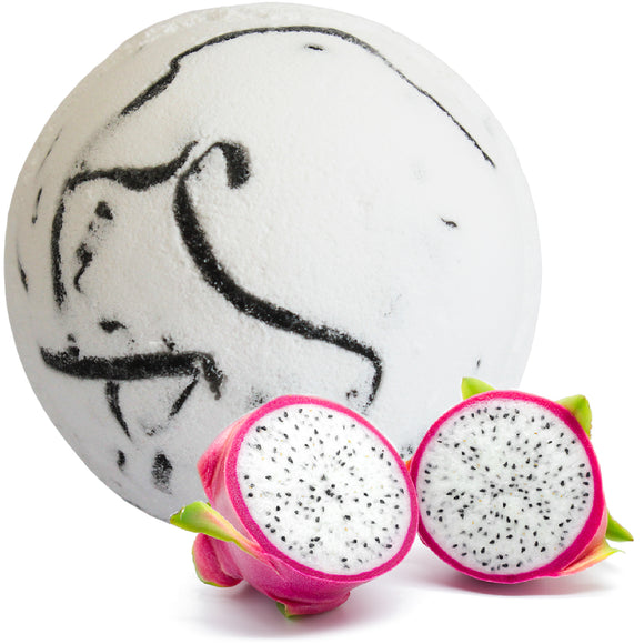 Health & Beauty > Bath > Bath Bombs > Tropical Paradise Coco Bath Bombs - Dragon Fruit