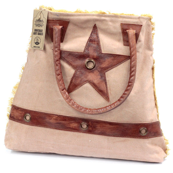 Fashion Accessories > Bags & Backpacks > Vintage Bags > Vintage Bag - Big Star