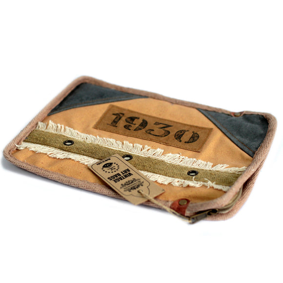 Fashion Accessories > Bags & Backpacks > Pouches > Vintage Bag - Tablet Pouch-1930