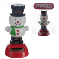 Occasions > Christmas > Christmas > 1x Jingle Jivers Christmas Snowman Solar Pal