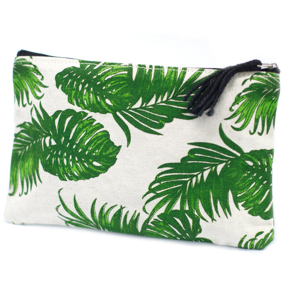 Fashion Accessories > Bags & Backpacks > Pouches > Classic Zip Pouch - Jungle