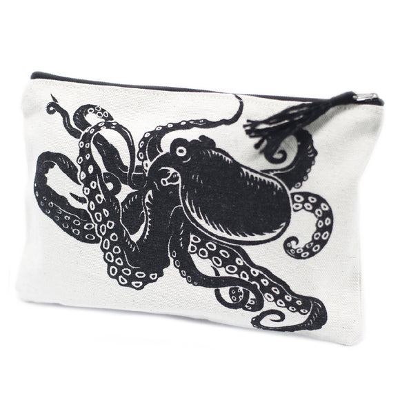 Fashion Accessories > Bags & Backpacks > Pouches > Classic Zip Pouch - Tentacles