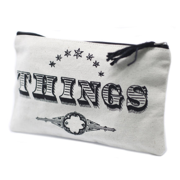 Fashion Accessories > Bags & Backpacks > Pouches > Classic Zip Pouch - Things