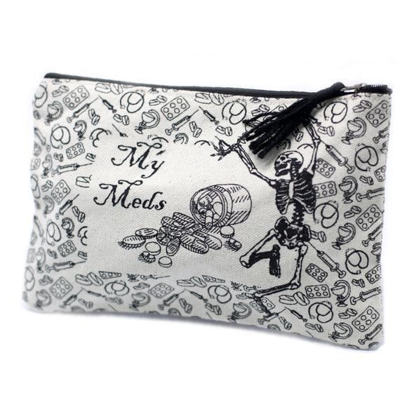 Fashion Accessories > Bags & Backpacks > Pouches > Classic Zip Pouch - My Med