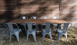 Salt Spring Harvest Tables (rental)