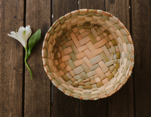 Natural basket/tortillero (rental)