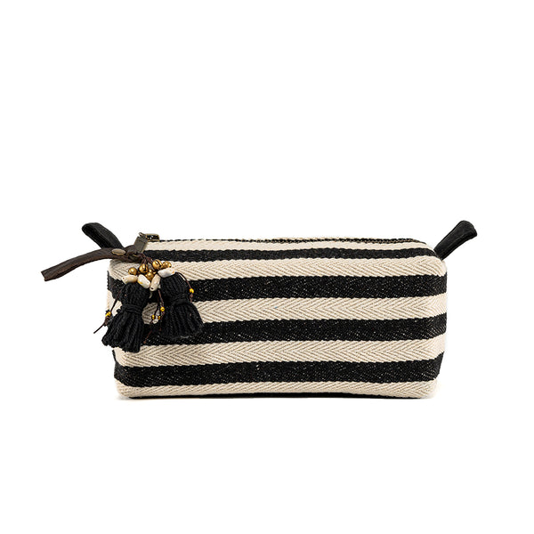 Valerie Cosmetic Puka Shell Small Black