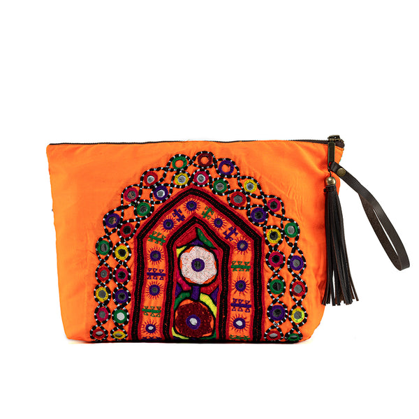 Shiva Clutch Orange