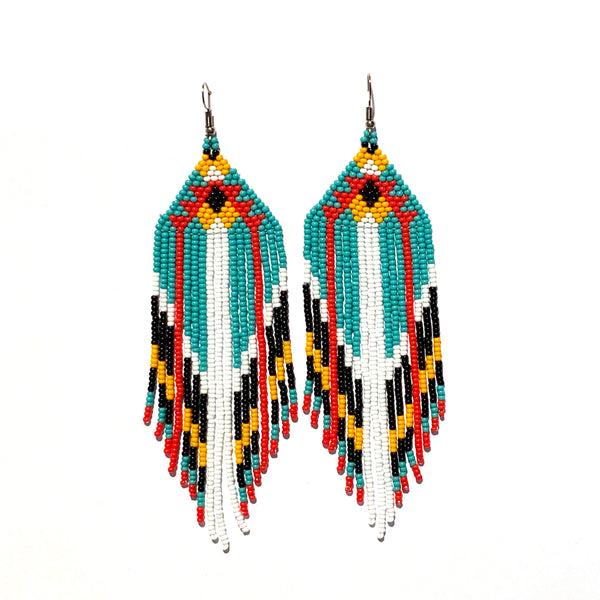 Tribal Earring Large Multi