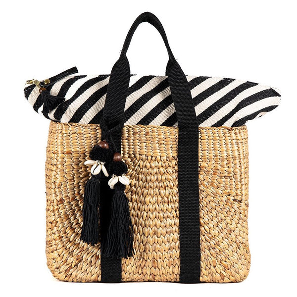 Valerie Square Basket Black