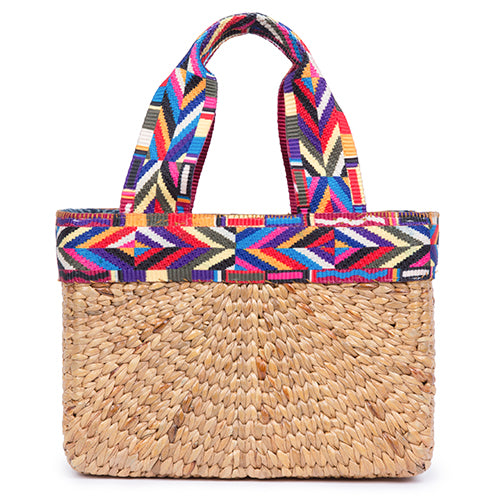 Good Vibes Mini Square Basket