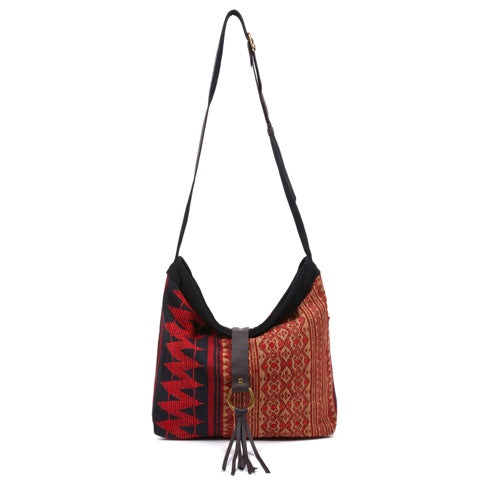 Akha Diamond Tassel Messenger