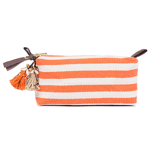 Valerie Cosmetic Puka Shell Small Coral