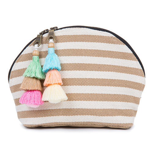 Valerie Double Tassel Cosmetic Sand