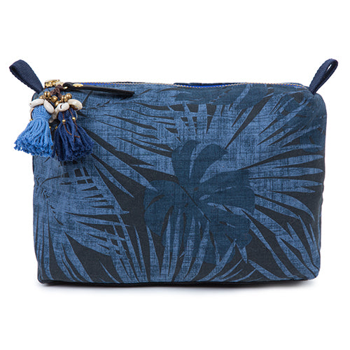 Aloha Zip Cosmetic Indigo/Blue