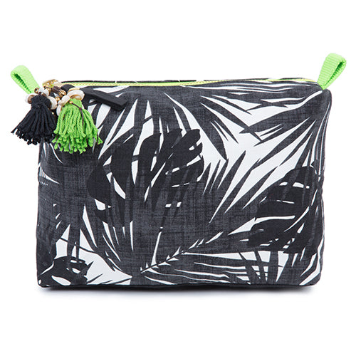 Aloha Neon Zip Cosmetic Black/Lime