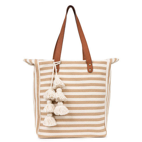Valerie 2 Way Tote Sand
